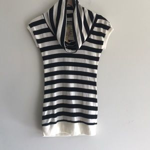 NWT Proof For The Planet Cowl Neck Blouse Size S